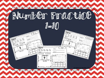 Number Packet 1-10