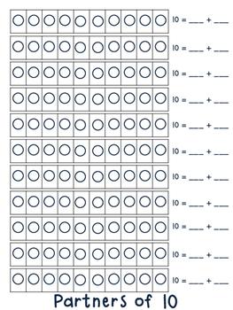 Number Partner Step Book