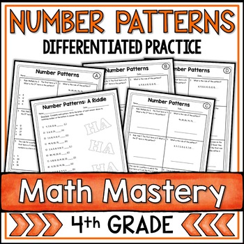 Number Patterns (4th Grade Common Core Math: 4.OA.5)