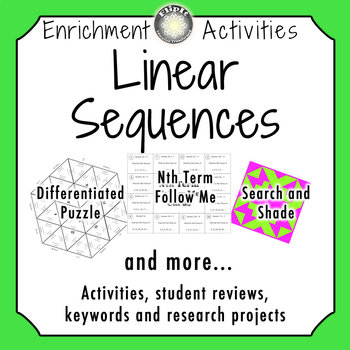 Linear Sequences Activities