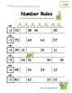 Number Patterns Worksheets