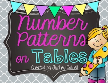 Number Patterns on Tables
