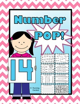 Number Bonds Interactive Morning Math Workbook #14 {K, Gra