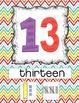 Number Poster Set
