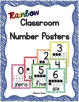 Number Posters {0-20}
