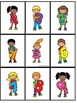 Number Posters 0-9 Kid Theme - With Matching Card Game