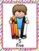 Preschool Number Posters! 1-10