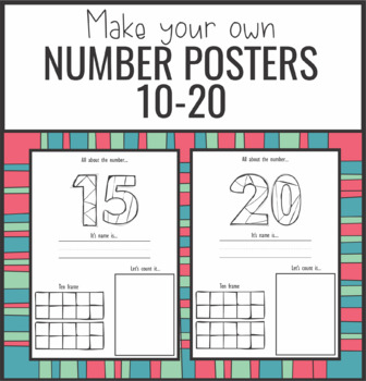Number Posters 10-20