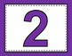 Number Posters Bulletin Board Set {FREE}