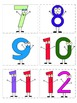 Number Posters - For the Wall and Pocket Chart