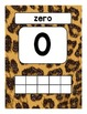 Number Posters: Leopard