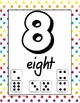 Number Posters Pack- 6 sets - 0 to 10 - multiple represent