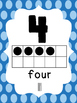Number Posters (Rainbow Polka Dot)
