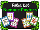 Number Posters - Polka Dot