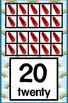 Number Posters - Wizard of Oz Theme