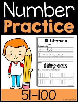 Number Practice 51-100