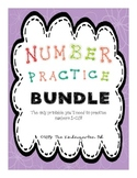 Number Practice BUNDLE!