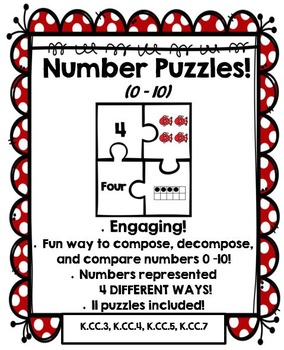 Number Puzzles 0 – 10