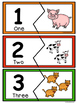 Number recognition  Puzzles 0-10- BUNDLE