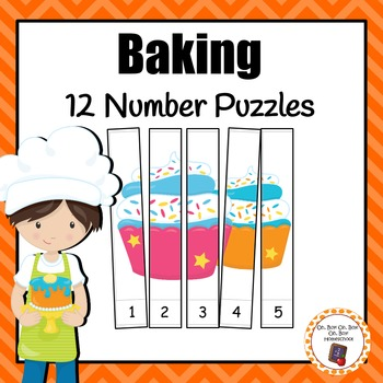 Number Puzzles: Baking Number Puzzles