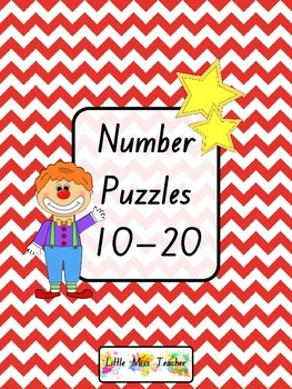 Number Puzzles (Numbers 10 - 20 Included)