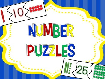 Number Puzzles with Base Ten Blocks and Ten Frames