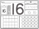 Number Q-tip Stamp 1-20