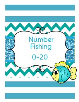 Number Recognitin Fishing Game 0-20