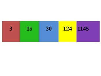 Number Recognition Game - ppt