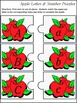 Number Recognition & Letter Recognition: Apple Letter & Nu