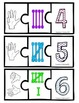 Number Recognition Puzzle: Finger Counting, Tally Marks, N