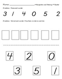 Number Recognition Test 0-5