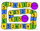Number Recognition and Counting Board Game