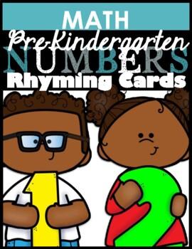 Number Rhyming Cards