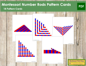Number Rods - Pattern Cards