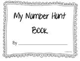 Number Scavenger Hunt Booklet