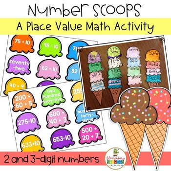 Place Value Number Scoops