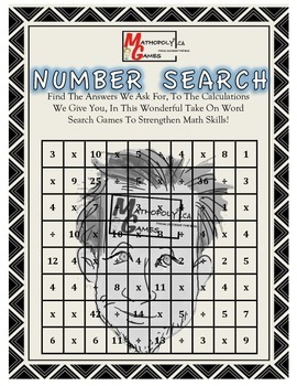 Number Search - Find The Equation For The Given Answers -