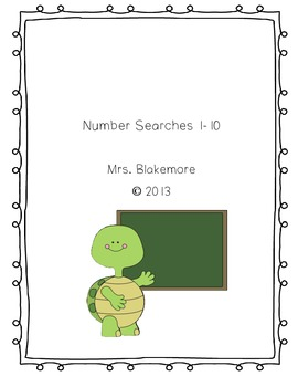 Number Searches 1-10
