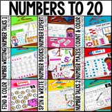 Number Sense 0-20 NO PREP BUNDLE