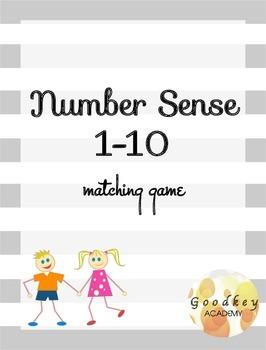 Number Sense 1-10 Matching