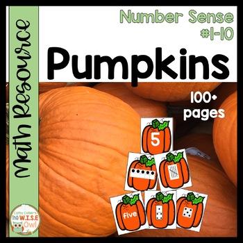 Number Sense #1-10:  Pumpkins