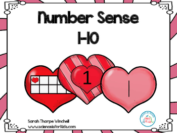 Number Sense 1-10 Valentine's Day