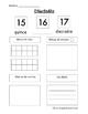Number Sense 10-20 - Sentido Numerico 10-20