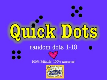 Number Sense: 100% Editable, 100% AWESOME Powerpoint!  Qui
