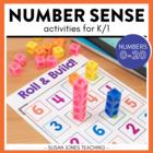 Number Sense Activities (0-20)
