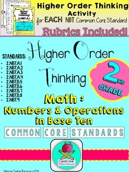 Number Sense Base Ten Higher Order Thinking Activities Sec