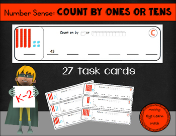 Number Sense: Count by Ones AND Tens