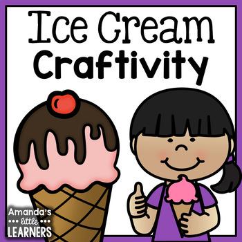 Number Sense Craftivity - Ice Cream Sundae