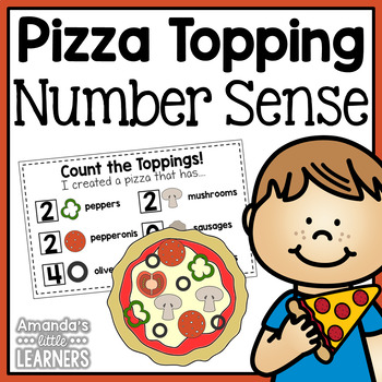 Number Sense Craftivity - Pizza